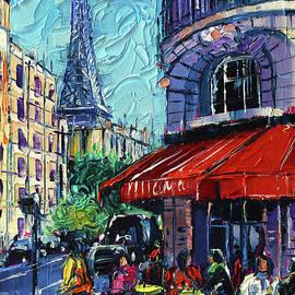 Morning In Paris by Mona Edulesco