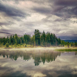 Morning in The Mist by Stuart Deacon
