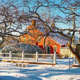 Morning Light, Winter Garden. by Jeff Sinon
