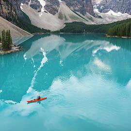 Morning Paddle by Peng Shi