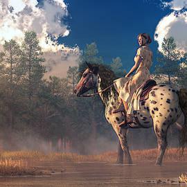 Morning Ride on an Appaloosa by Daniel Eskridge