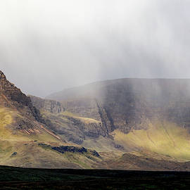 Morning Showers Over The Quiraing by Nicholas Blackwell