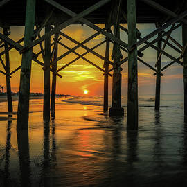 Morning Under The Pier by Dan Sproul