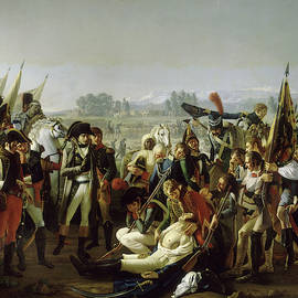 Mort du general Desaix a Marengo, 1800 by Jean Broc