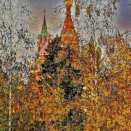 Moscow. Autumn. Pokrovsky cathedral. by Andy Za