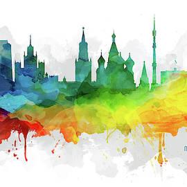 Aged Pixel - Moscow City Skyline RUSMW07