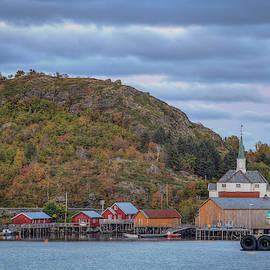 Moskenes Church, Moskenes Lofoten Norway by Mike Deutsch
