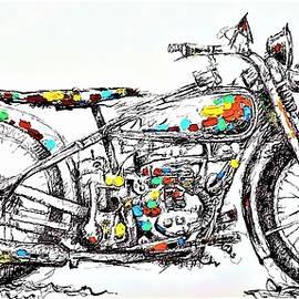 Motor Cycle by Rob Hans