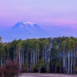 Mount Adams sunrise  by Lynn Hopwood