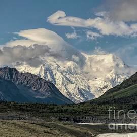 Mount Blackburn - Wrangell Mountains by Jan Mulherin