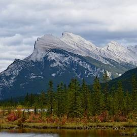 Mount Rundle at Vermilion Lakes by Dana Hardy