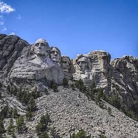Mount Rushmore  by Chance Kafka