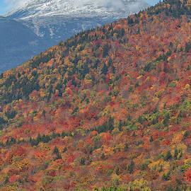 Mount Washington First Autumn Snow by Chris Whiton