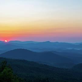 Mountain Sunrise by Mary Ann Artz