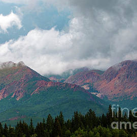Mountain Thunderstorm Clouds by Steve Krull