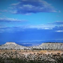 Mountains and horizon in New Mexico #2 by Victoria Beasley