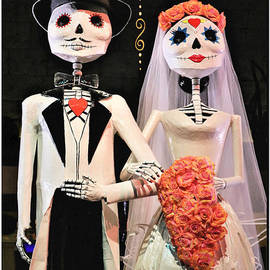 Mr and Mrs Sugar Bones Poster Art by Diann Fisher