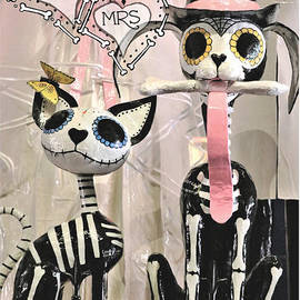 Mr and Mrs Sugar Paws Poster Art by Diann Fisher