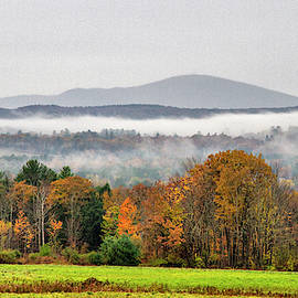 Mt. Kearsage Foggy View by Betty Pauwels