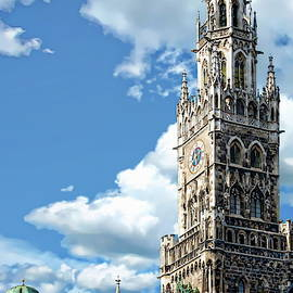 Munich Town Hall by Anthony Dezenzio