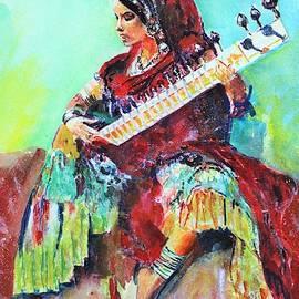 Musician. by Khalid Saeed