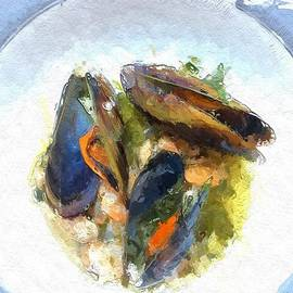 Mussels and Shrimp by Terri Price