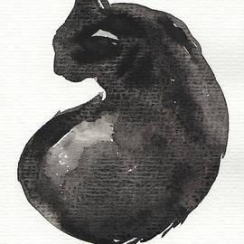 My Black Cat by Judith Kunzle