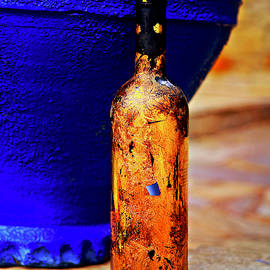 My Summer, Art, Gold Wine  - 4224 by Panos Pliassas