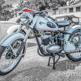 MZ Motorcycle by Tony Baca