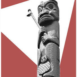 N W Pacific Totem by Diann Fisher
