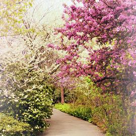 Pastel Spring Garden by Jessica Jenney