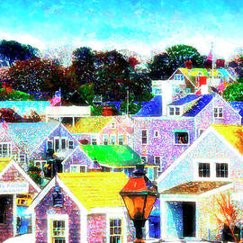 Nantucket Watercolour by Jack Torcello