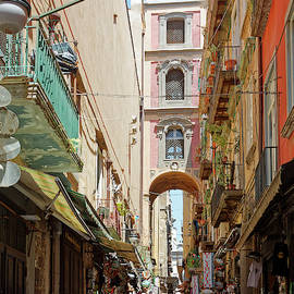 Naples Italy by Sally Weigand