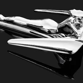 Nash Flying Goddess Hood Ornament  -  1962nashmetroflyinggoddesswingfoldedarms