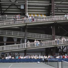 National Tennis Center by Alfred Gescheidt