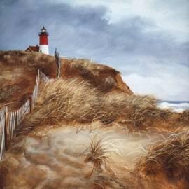 Nauset Beach Lighthouse by Teresa Trotter
