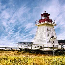 Neils Harbour Lighthouse by Scott Kemper