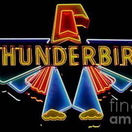 Neon Thunderbird by Tru Waters