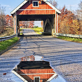 Netcher Covered Bridge by Marcia Colelli