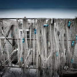 Nets Of Fishtown, Michigan by Evie Carrier