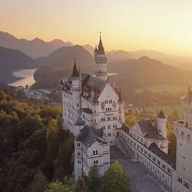 Neuschwanstein castle by Masha Lince