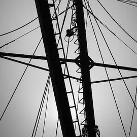 New Bedford Waterfront XXX BW by David Gordon