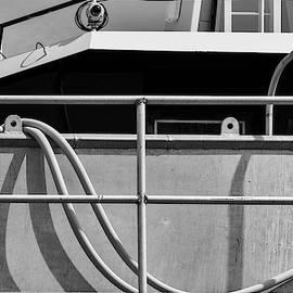 New Bedford Waterfront Xxxvii Bw by David Gordon