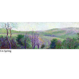 New England In Spring by Betsy Derrick