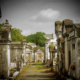 New Orleans Cemetery by Jean Noren