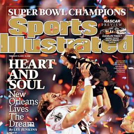 New Orleans Saints Qb Drew Brees, Super Bowl Xliv Sports Illustrated Cover