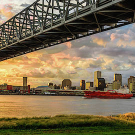 New Orleans Skyline 2 of 4 by Chase This Light Photography
