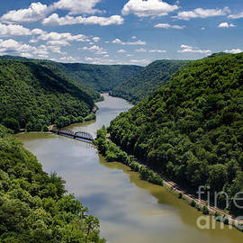 New River Gorge National River by Norma Brandsberg