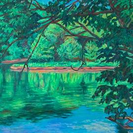 New River Reflections by Kendall Kessler