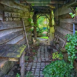 New York City 378 Miles by Janice Pariza